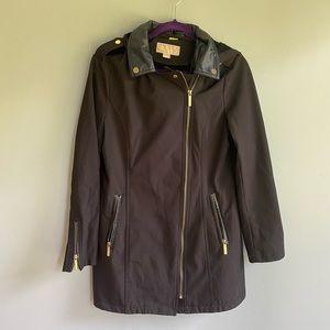 Michael Michael Kors Black Zip Up Jacket